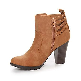 Rialto Womens SONNY Fabric Round Toe Ankle Fashion Boots