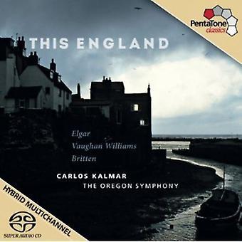 Elgar/Vaughan Williams/Britten - This England [SACD] USA import