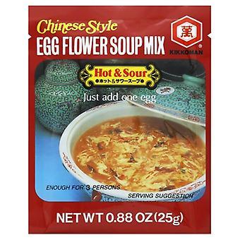 Kikkoman Soup Egg Flower Hot&Sour, Case of 12 X 0.88 Oz