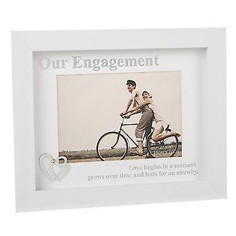 Joe Davies Modern White Engagement 6 X 4 Fotoram 201661