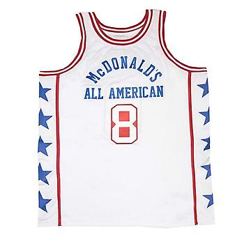 Men's Mcdonald's All American #8 Bryant Basketball Jersey Stitched