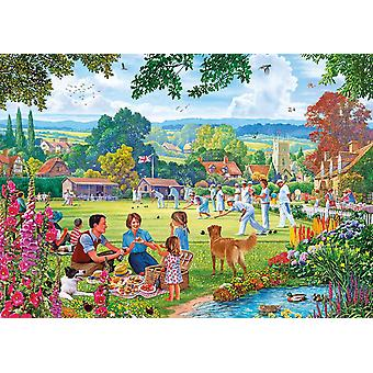 Gibsons Bowling by the Brook Jigsaw Puzzle (500 Pieces)