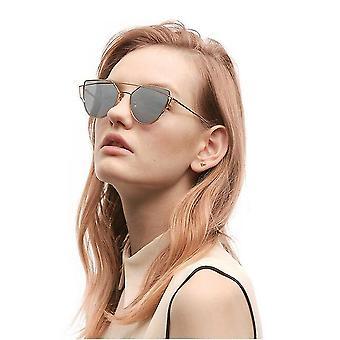 Reflektierender UV-Schutz Katzenauge Damen Sonnenglas Star Style Sommerurlaub