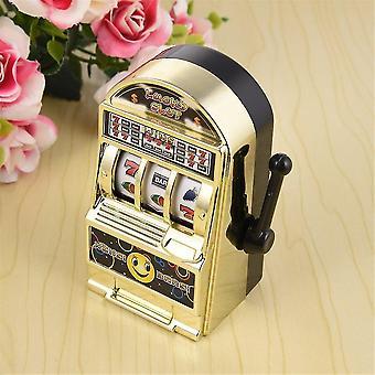 Máquina caça-níqueis infantil Mini brinquedo presente de aniversário de sorte crianças seguras nova peça