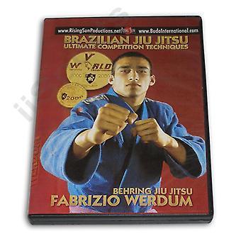 Concours ultime de jitsu behring brésilien Dvd Fabricio Werdum -Vd6618A