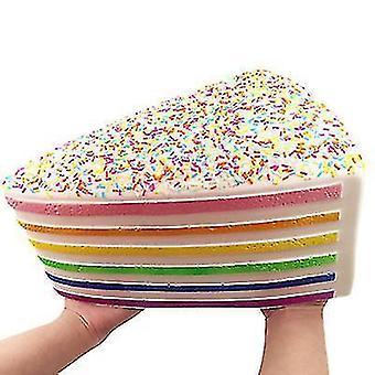 コポズオーバーサイズレインボーケーキスクイーズスローリバウンド解凍おもちゃ?子供用、大人用(25 *18*13cm)