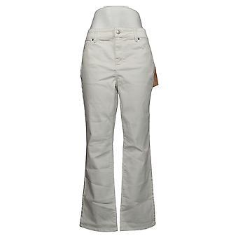 NYDJ Petit pantalon pour femmes Straight Uplift in Cool Embrace White A395678