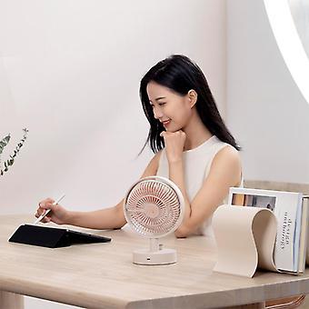 Fan Shaking Head Intelligent Digital Display Mini Cooling  Noise Fan|Fans