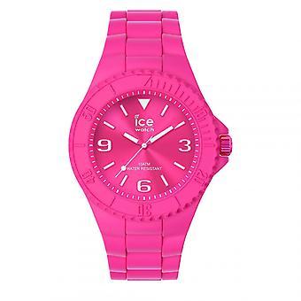 Mixed watch Ice Watch Ice generatie horloges - Flashy roze - Medium - 3H 019163 - Roze Siliconen Band