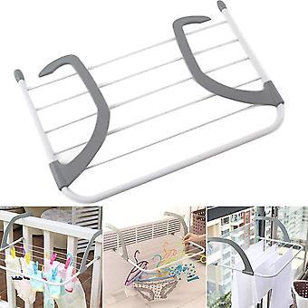 1PCS Multifuncional Diseño Plegable Hogar Interior Exterior Balcón Telescópico