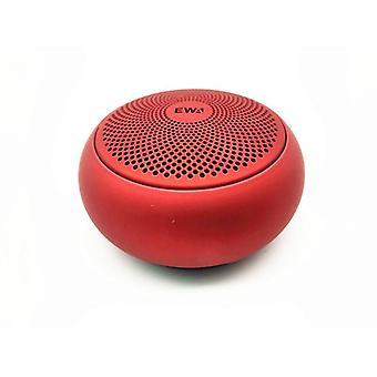 מיני נייד Bluetooth רמקול אמבטיה עמיד למים מקלחת רמקול TWS מקרה  סאב וופר(אדום)