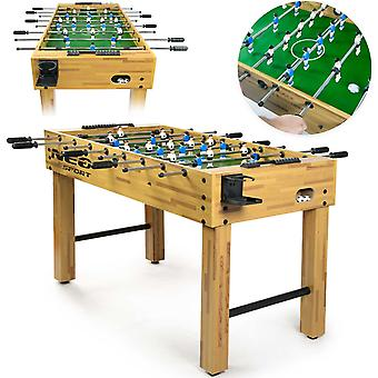 Tafelvoetbal - Tafelvoetbaltafel - 121x61x79cm