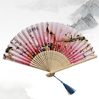 The Palace Museum Chinese Cultural Creation Gift Bamboo Fan
