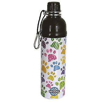 Dog toys lick 'n flow pet water bottle paws 750ml