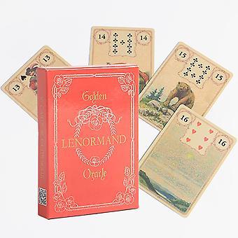 Nouveau Tarot Gothique Oracle Card Carte de Jeu de Société Anglais
