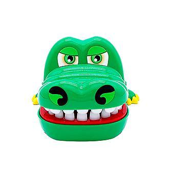 Silktaa Dents Jouets Jeu pour enfants Crocodile Mordant doigt Dentiste Jeux