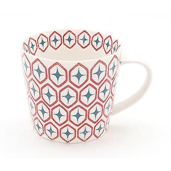 ECP Design Skane Star Single Mug, Blue