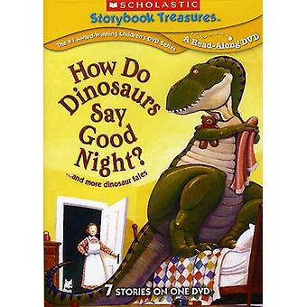 Cómo importar los E.e.u.u. hacen los dinosaurios dicen buenas noches y más dinosaurio Tal [DVD]
