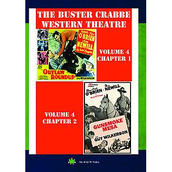 Buster Crabbe Western Theatre Vol 4 [DVD] USA import