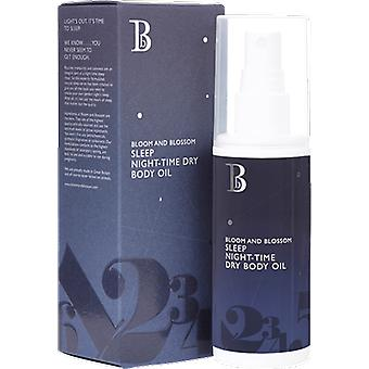 Bloom and Blossom Sleep Night Time Dry Body Oil