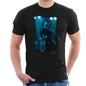 Freddie Mercury w Black Queen na scenie Men's T-Shirt