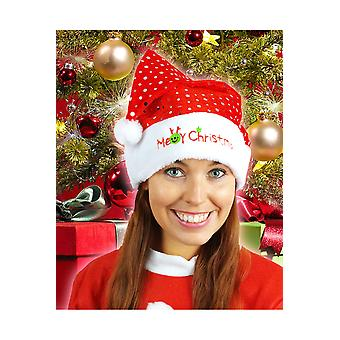 Bonnet de Noel de chapeaux avec paillettes
