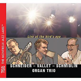 Schneider / Vallet / Schmidlin Organ Trio - Live at the Bird's Eye [CD] USA import