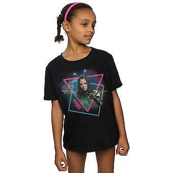 Marvel Mädchen Hüter des Galaxy Neon Mantis T-Shirt