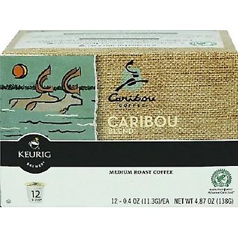 Caribou Coffee Caribou Blend Keurig K-Cups 12 Cup Box