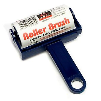 Trident Lint Roller Brush Navy 5m with GHI Award from Caraselle