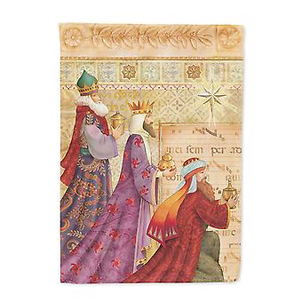 Carolines Treasures  APH7603GF Christmas Three Wise Men Flag Garden Size