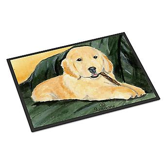 Carolines Treasures  SS8761MAT Golden Retriever Indoor Outdoor Mat 18x27 Doormat