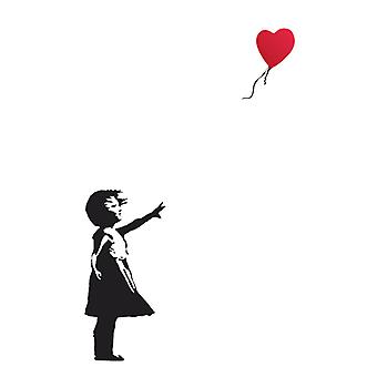 Banksy Balloon Girl Poster Poster Print by
