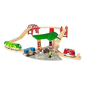 BRIO World Travel Station Set 33627 25 Pieces