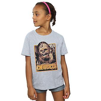 Star Wars Girls Chewbacca huutaa t-paita