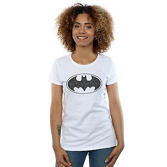 DC Comics Women's Batman One Colour Logo T-Shirt