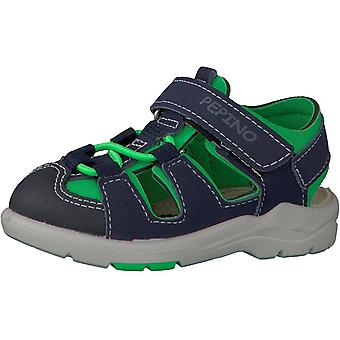 Ricosta Pepino jongens Gery sandalen blauw groen