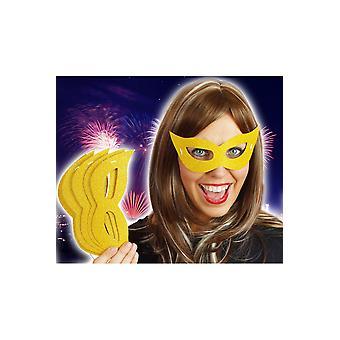 Maskers van 6 gouden maskers
