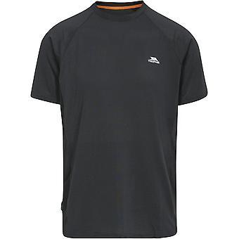 Overtreedt Mens Cacamatzin Short Sleeve Wicking Fitness Running T-Shirt