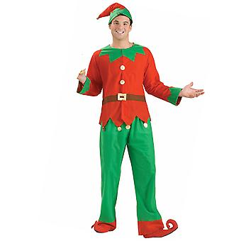 Helper Elf Santa Claus Christmas unisexes femmes Mens Costume de Santa STD