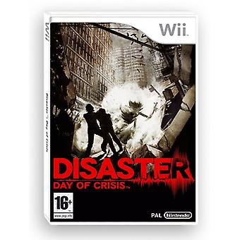 Disaster Day of crisis (Nintendo Wii)-fabriek verzegeld