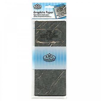 Royal & Langnickel Grey Graphite Paper (1 Sheet 18 x 36