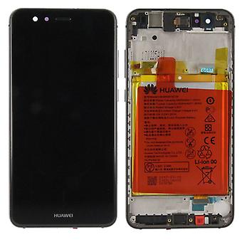 Huawei display LCD unit + frame for P10 Lite Service Pack 02351FSE black