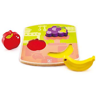 Hape Chunky frugt puslespil