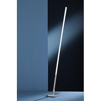 Trio Beleuchtung Chaussee Modern Nickel Matt Metal Stehlampe
