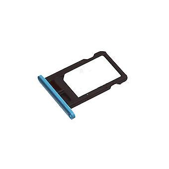 För iPhone 5C - simkortshållare - blå | iParts4u