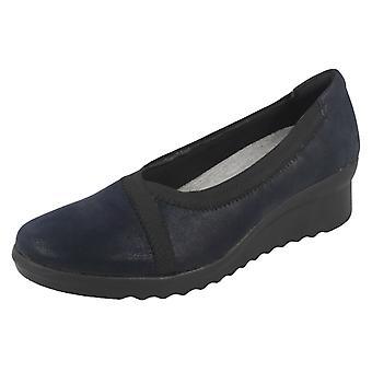 Hyvät Clarks Wedge kengät Caddell viiva