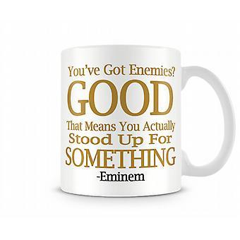 Fiender Eminem Tryckt Mugg