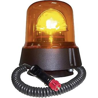 AJ.BA Emergency licht GL.02 12 V, 24 V via in-car outlet zuig cup, magnetische bevestiging van Oranje