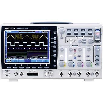 GW Instek GDS-2074A Digital 70 MHz 4-channel 2 GS/s 2 MP 8 Bit Digital storage (DSO)